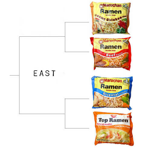 ramen final four - sweet sixteen