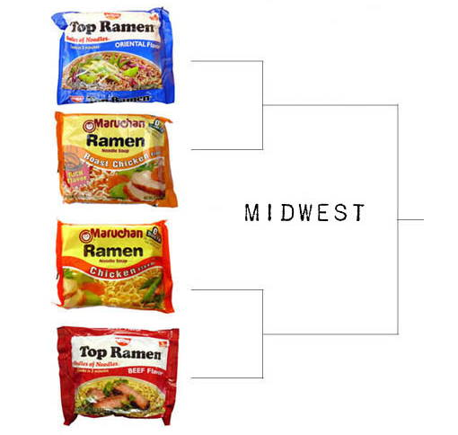 ramen final four - sweet sixteen