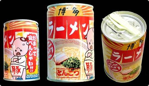 canned ramen