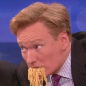 ramen secrets on Conan O'Brien