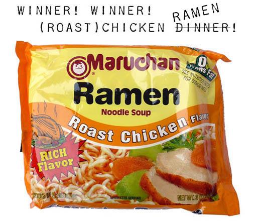 ramen final four winner maruchan roast chicken