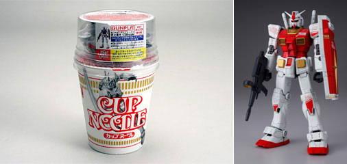 gundam cup noodle