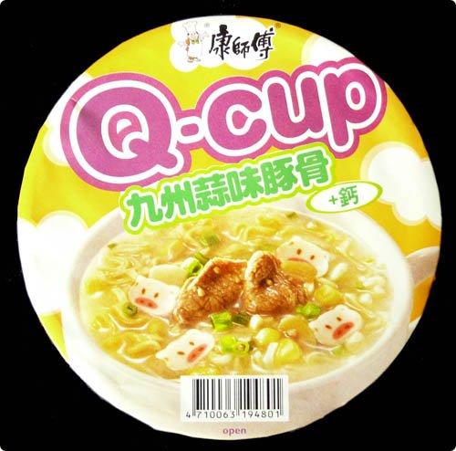 Q-cup Kyushu garlic ramen