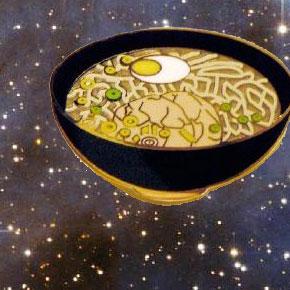 ramen in space